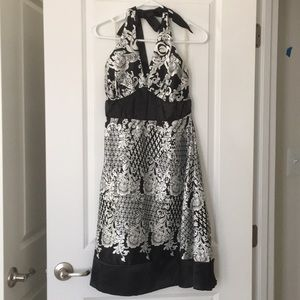 NEVER WORN Halter Dress